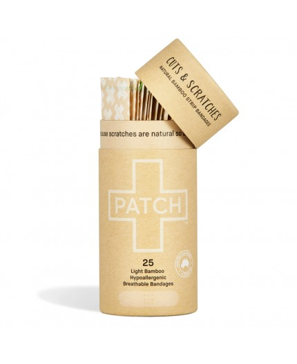 Tiritas biodegradables de Bambú natural -25ud.-